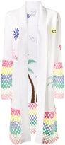 Mira Mikati crochet trimmed cardigan - women - Cotton/Acrylic/Wool - 34