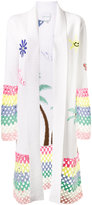 Mira Mikati crochet trimmed cardigan - women - Cotton/Acrylic/Wool - 36