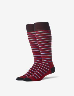 Tommy John Tommyjohn Slater Stripe Stay-Up Dress Sock
