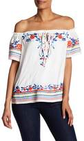 Parker Ariel Embroidered Top