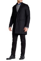 Wesc Rock Relaxed Fit Wool Blend Coat