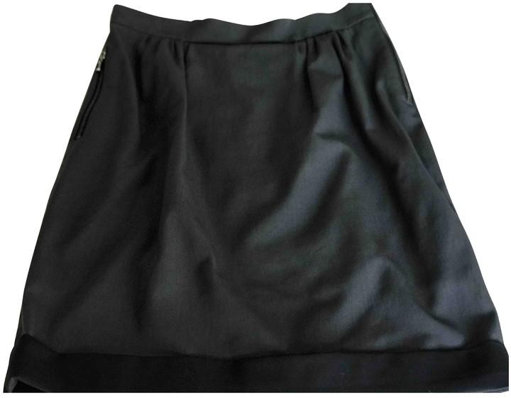Lanvin Grey Cotton Skirt for Women