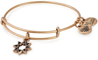 Alex and Ani Gold Eight Poitned Star Bangle