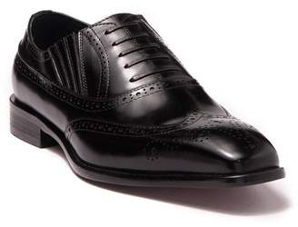 MAISON FORTE Maximum Leather Wingtip Oxford