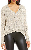 GB Sequin V-Neck Sweater
