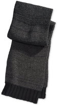 Alfani Men's Solid Knit Scarf, Only at Macy's
