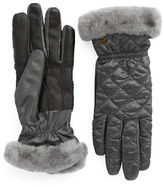UGG Shearling Cuff Tech Gloves
