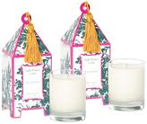 Seda France Plum Chypre Pagoda Candles (10 OZ) (Set of 2)