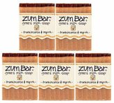 Indigo Wild Zum Bar Goat's Milk Soap, Frankincense & Myrrh 3 oz