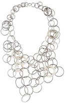 Saint Laurent Mother of Pearl Interlocking Circles Collar