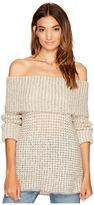 BB Dakota Tegan Off the Shoulder Sweater Women's Sweater