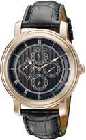 Lucien Piccard Men's 40009-RG-01 Valarta Analog Display Quartz Watch