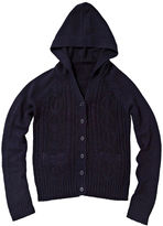 USPA U.S. Polo Assn. Cable-Knit Hoodie - Girls 7-16