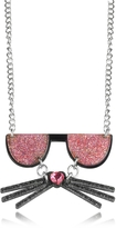 Karl Lagerfeld K/Kocktail Necklace w/Glitter Effect