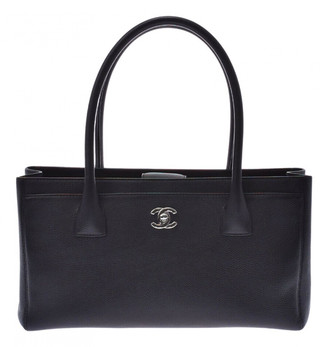 Chanel Executive Black Leather Handbags