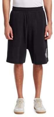McQ Dart Low Crotch Patch Shorts