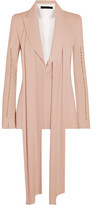 Elie Saab Embellished Crepe Blazer - Blush