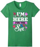 Men's Maternity Shirt I'm here for the sex gender reveal T-shirt 3XL
