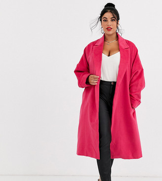 Unique21 Hero belted wool coat