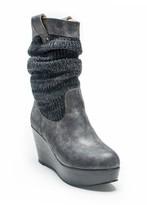 Muk Luks Quinn Slouchy Wedge Boot