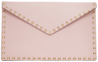 Valentino Pink Flat Pouch