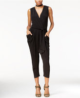 Rachel Roy Draped Cropped Jumpsuit, Only at Macy's