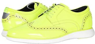 Florsheim Fuel Neon Wingtip Oxford (Lime) Men's Shoes