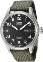 Oris Men's 75276984164LS2 Analog Display Swiss Automatic Green Watch