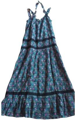 AILANTO Blue Cotton Dresses