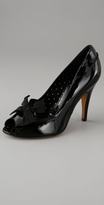 Moschino Cheap and Chic Open Toe Pump with Bow