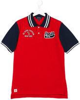 Ralph Lauren bicolour polo shirt