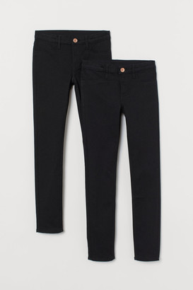 H&M 2-pack Skinny Fit Jeans