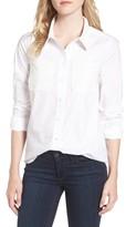 Draper James Women's Lace Detail Shirt