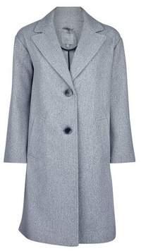 Dorothy Perkins Womens Petite Grey Unlined Coat, Grey