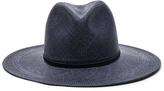 Janessa Leone Morgan Short Brimmed Panama Hat