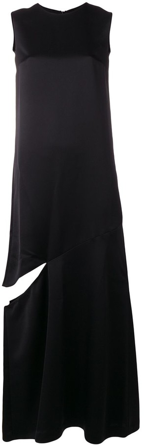 Maison Margiela Split-Detail Maxi Dress