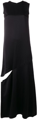 Maison Margiela side split maxi dress