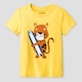 Cat & Jack Toddler Boys' Surf Graphic T-Shirt Cat & Jack - Eureka Yellow