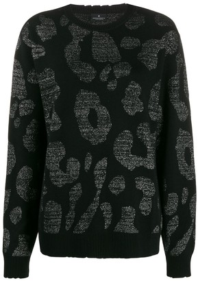 Marcelo Burlon County of Milan leopard print sweater
