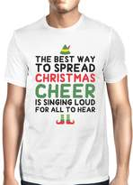 Love 365Printing Best Way To Spread Christmas Cheer Grey Men's Shirt Holiday Gift