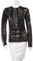Balenciaga Wool Two-Tone Top