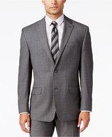 Sean John Men's Classic-Fit Gray Glen Plaid Jacket
