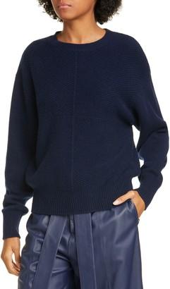 Jason Wu Waffle Knit Wool & Cashmere Sweater