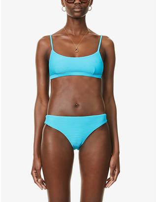 Seafolly Essentials ribbed bralette bikini top