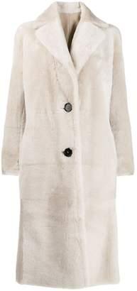 Antonelli reversible leather coat