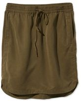 L.L. Bean Signature Tencel Skirt