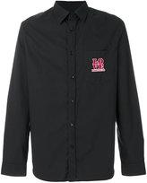 Love Moschino embroidered logo shirt