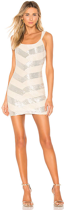 NBD X By X by Montserrat Embellished Mini Dress