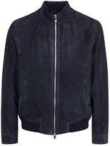 Corneliani Navy Suede Jacket