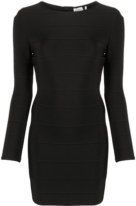 Herve Leger Icon sheath mini dress